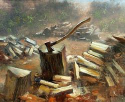 Keith Gunderson - Woodpile