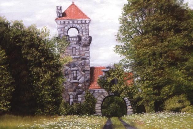 Marlene Wiedenbaum - Gatehouse (plein air)