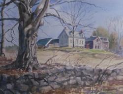 Dee Burdick - Early Spring On Oakwoods Road