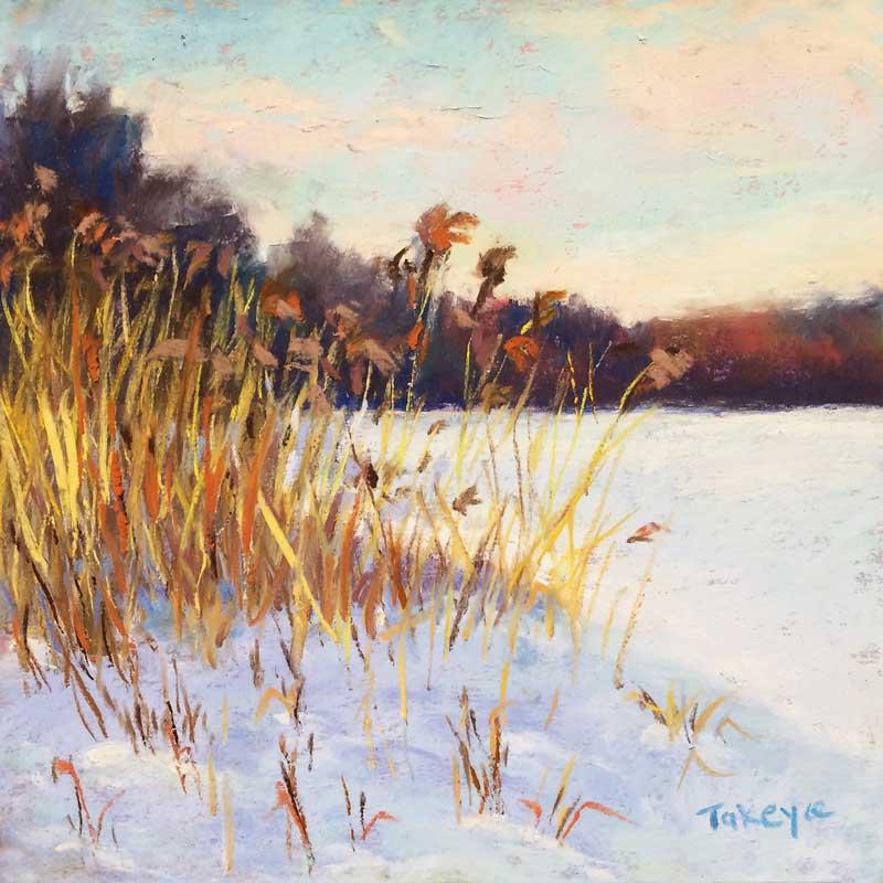 Takeyce Walter - Winter Grasses