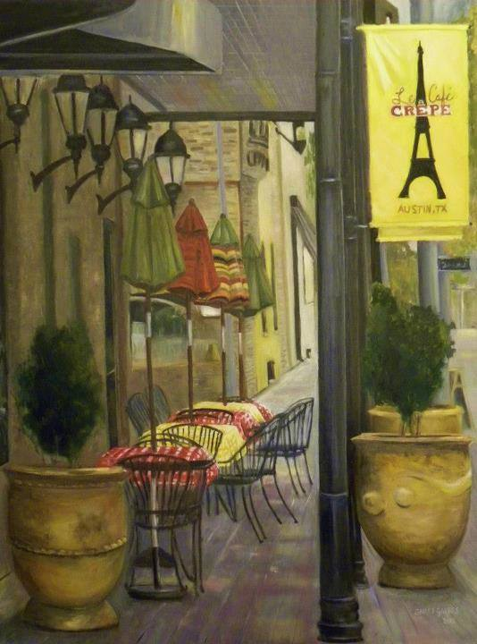 Shari Gaines - Le Cafe Crepe