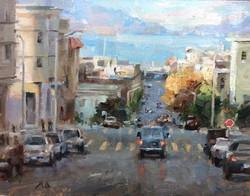 Kyle Ma - Sunset at Stockton Street