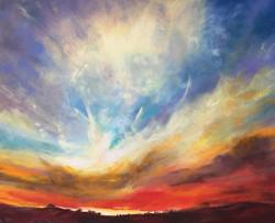 Sherri Cassell - Fiery Sunset