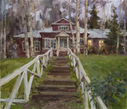 Alexander Zimin - The Old Manor House