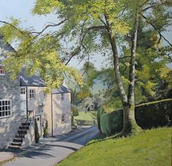 David Barber -  Wintercroft Lane at Thorpe, Derbyshire