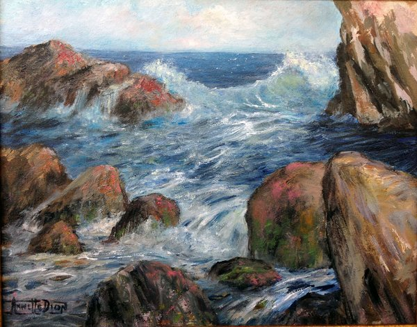 Annette D McGowan - Point Lobos