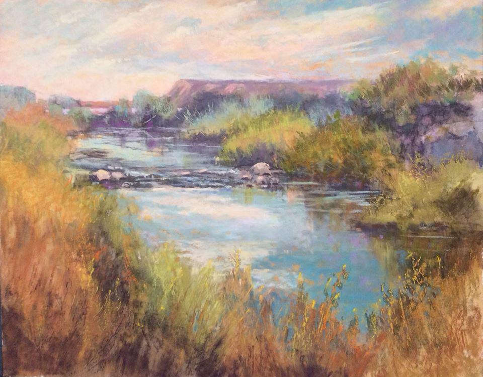 Janis Ellison - Desert Stream