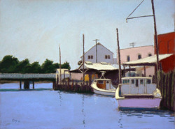 Curtis Eley - Bridge at Bridge St., Hampton