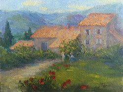 Oksana Johnson - Summer Day in Provence