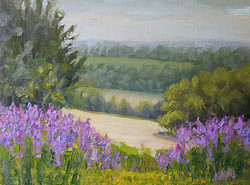 Kathy Mohl - Above and Beyond (plein air)