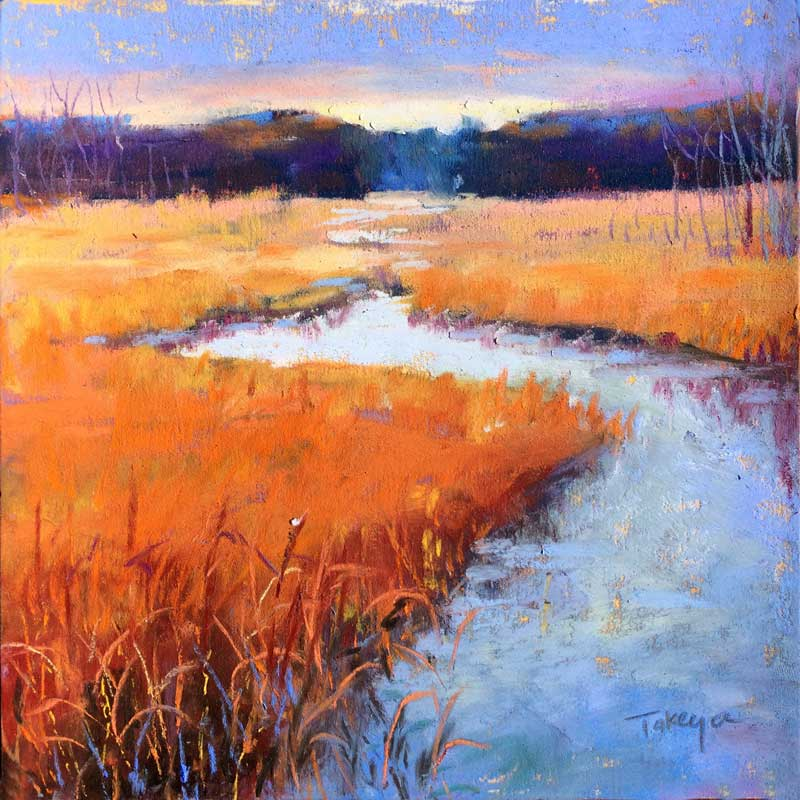 Takeyce Walter - Fall Marsh