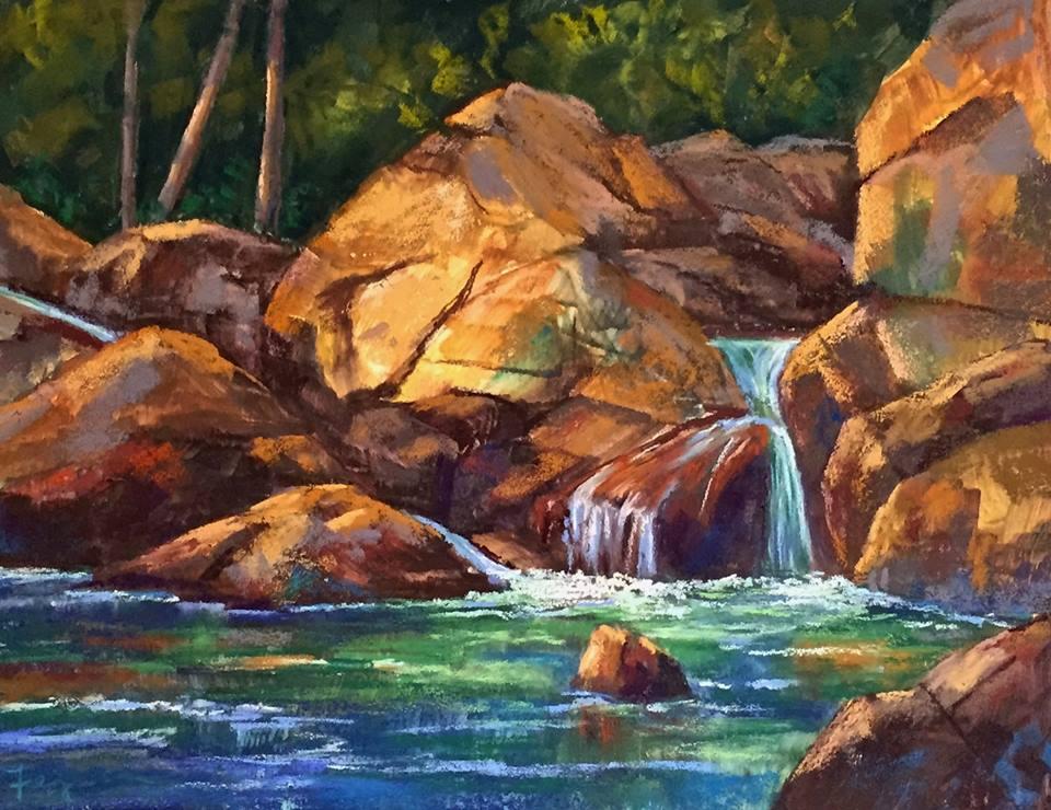 Candi Ferguson - Abstract Rocks