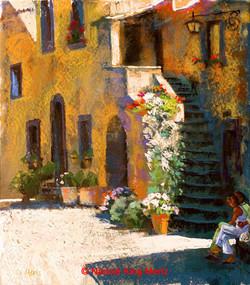 Nancie King Mertz - A Day in Bagno Reggio