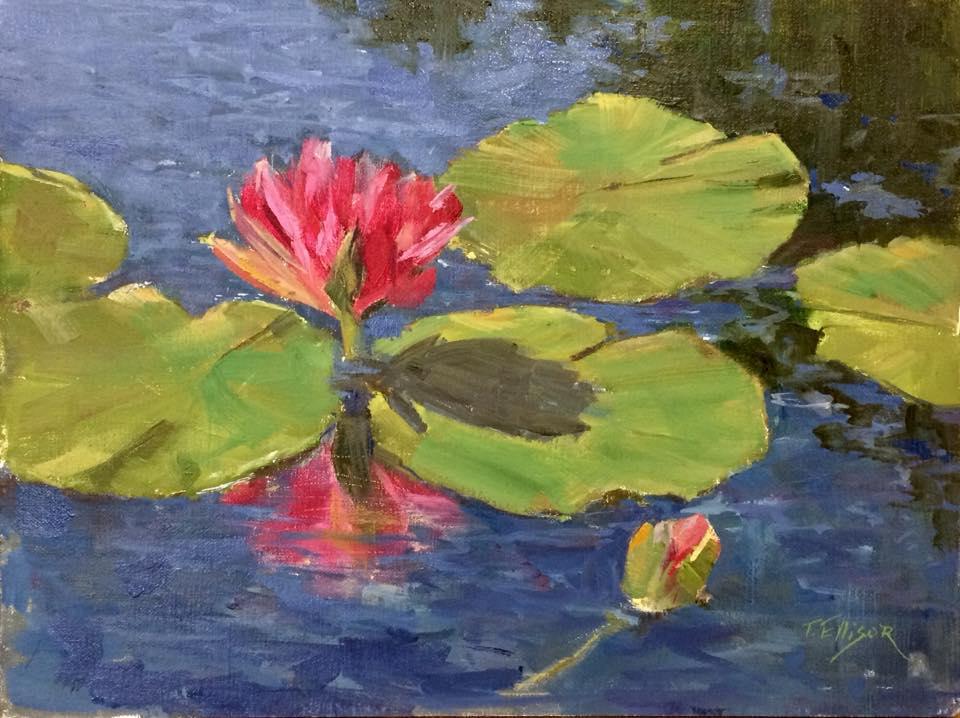 Fran Ellisor - The Fuschia Lily