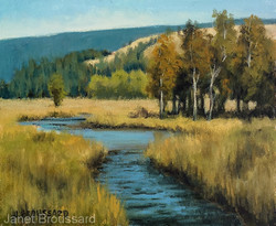 Janet Broussard - Golden Day Study