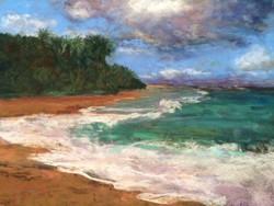 Suzanne Leslie - Tunnels Beach, Kauai