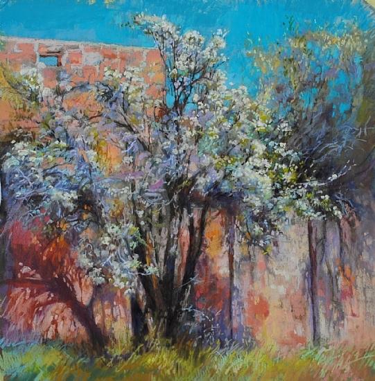 Christine Debrosky - Blooms, Brambles & Impossible Blue.jpg