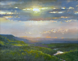 Jason Sacran - Fletcher Mountain, Sunset.jpg