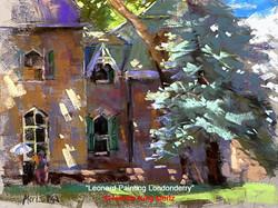 Nancie King Mertz - Leonard Painting Londonderry