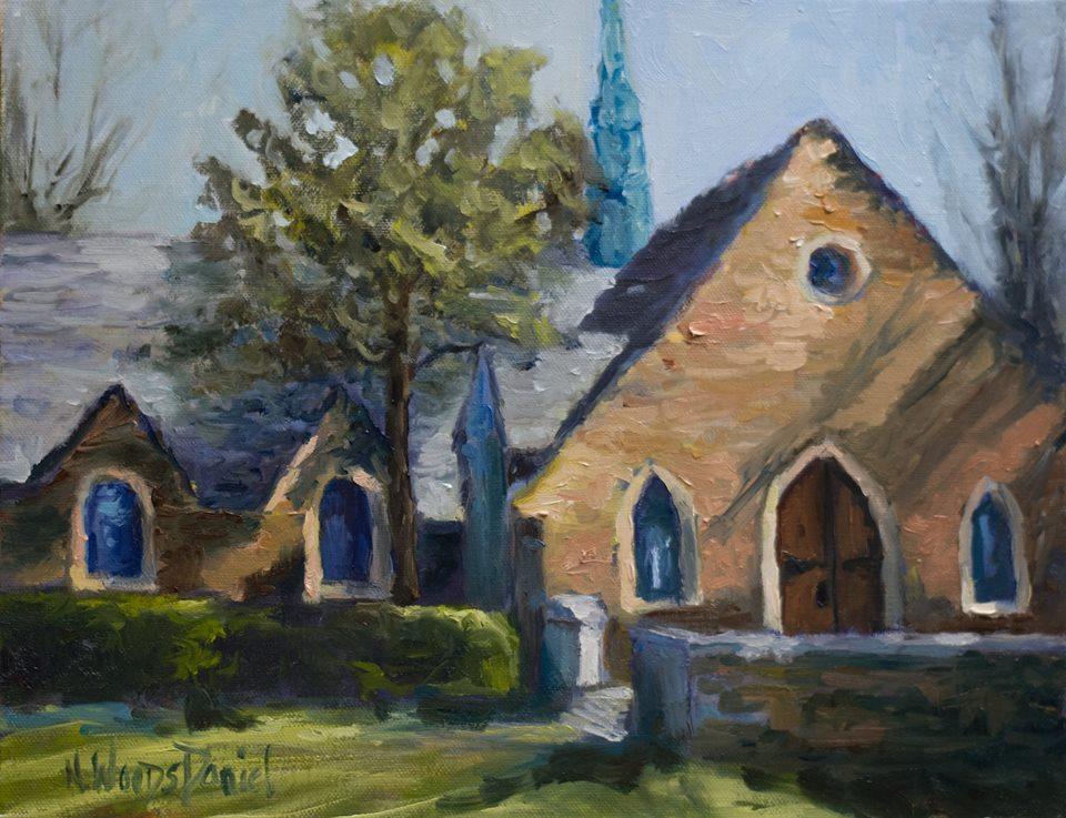 Nancy Woods Daniel - Frost Chapel, Berry College
