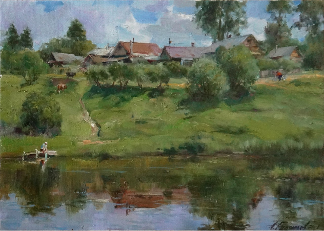 Azat Galimov - Summer in the Province. Kashin City.