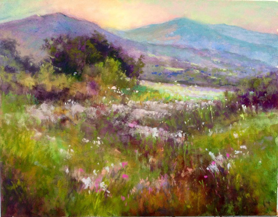 Janis Ellison - Spring Meadow