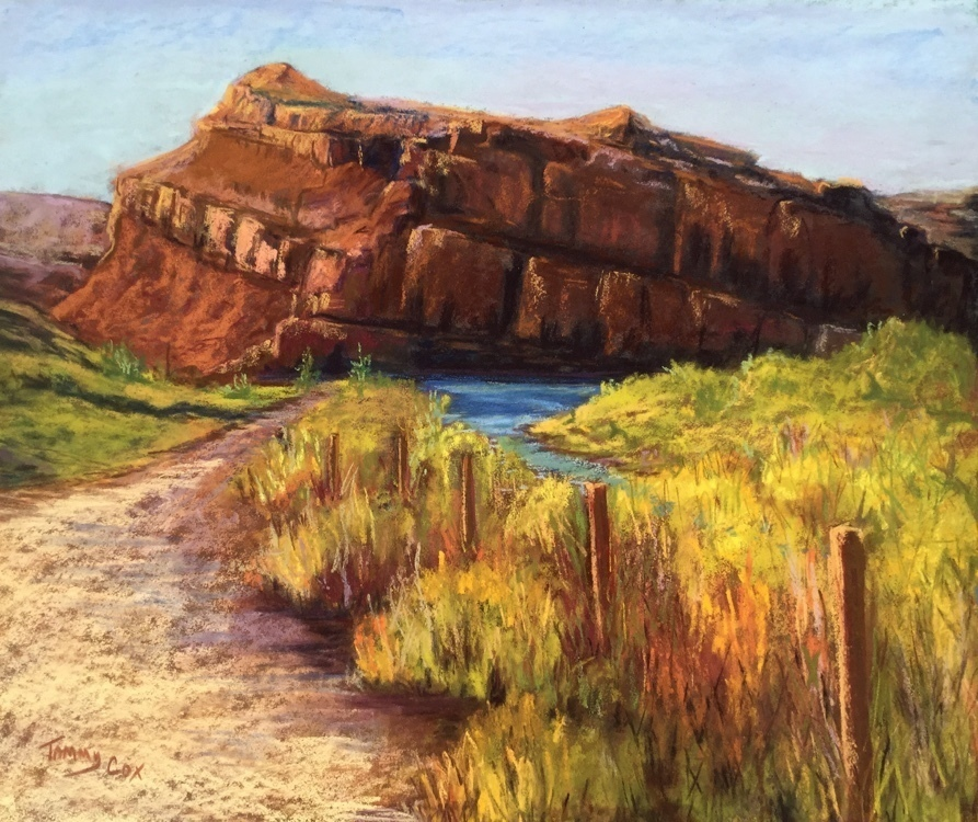 Tammy Cox - The Wind River at Red Rocks
