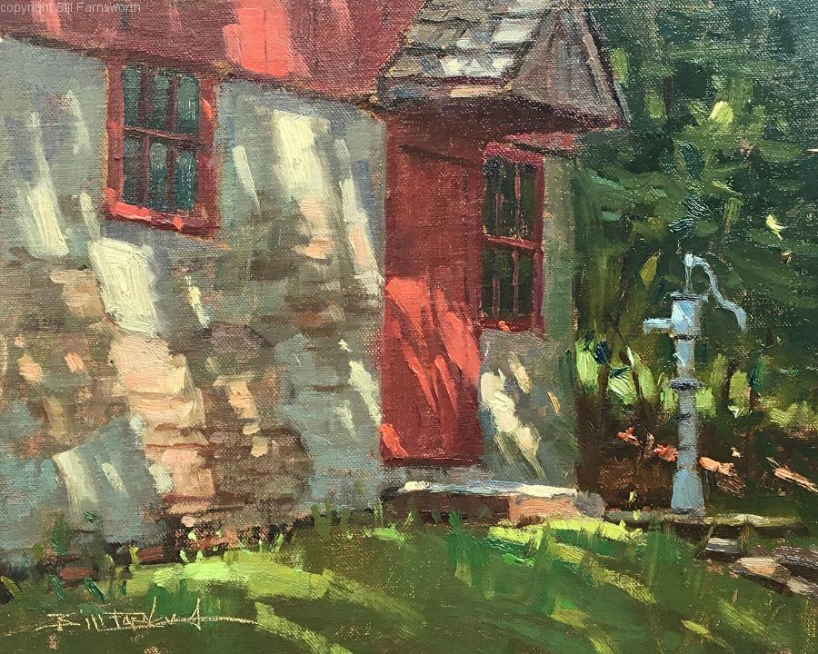 Bill Farnsworth - A Time Remembered (plein air)