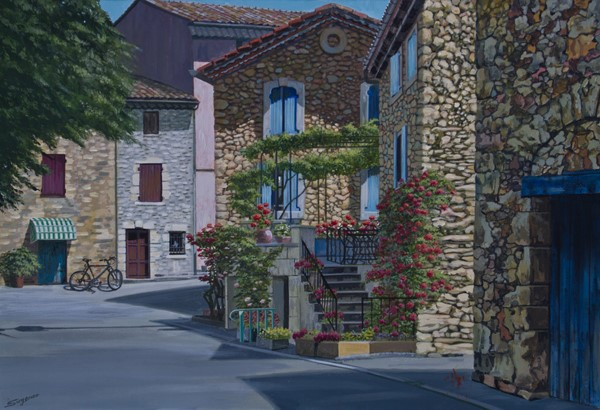Freda Surgenor - A Spring Day at Aurel, France