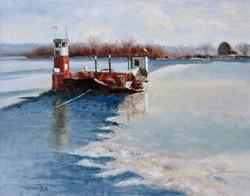 Bruce Newman - Gagetown Ferry 200