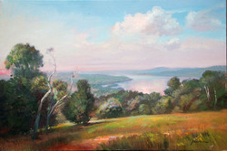 Keith Gunderson - The Hudson from Olana