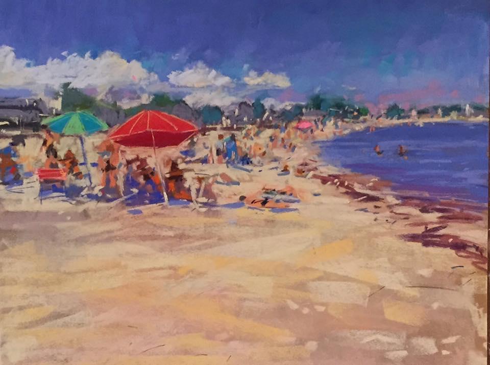 Kim Morin Weineck - Beach at Noon
