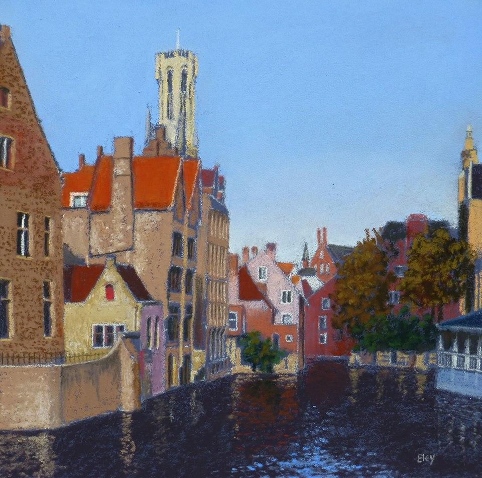 Curtis Eley - Morning in Bruges, Belgium