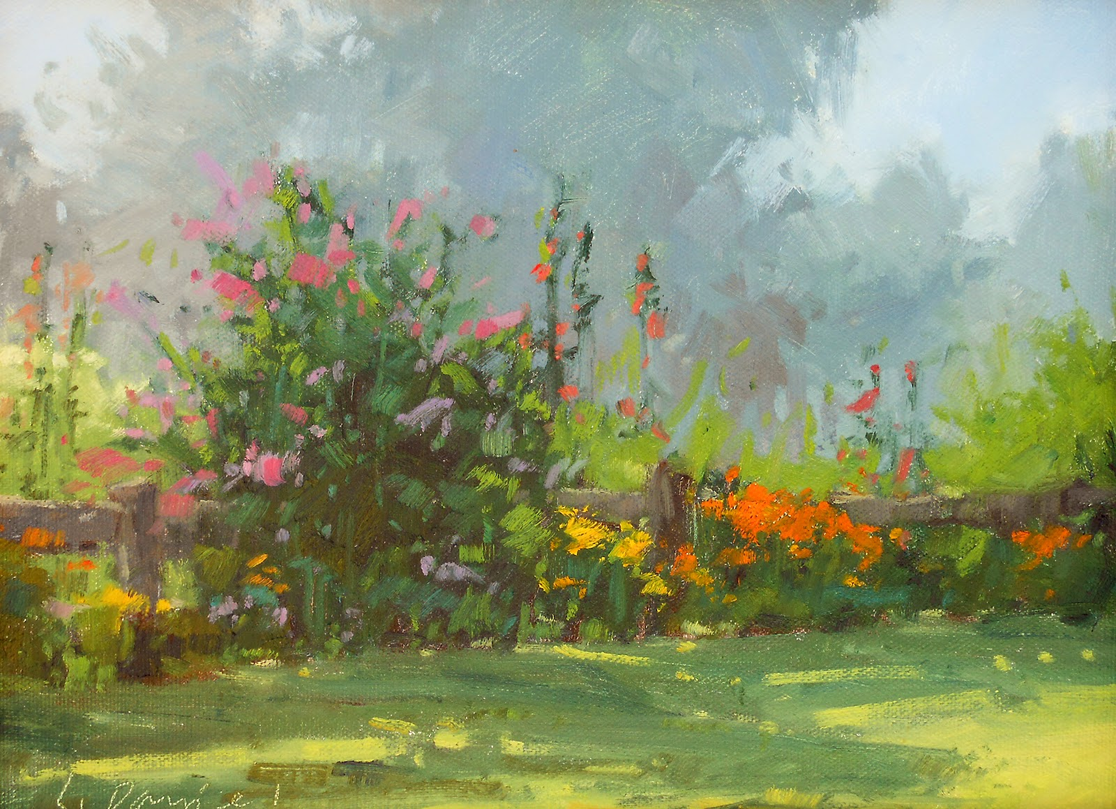 Laurel Daniel - Garden Color (Quick Draw).jpg