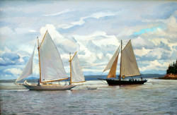 Josh Adam - Yachts Off Dyce's Head