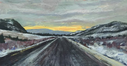 Holly Friesen - Road Tripping towards the Light