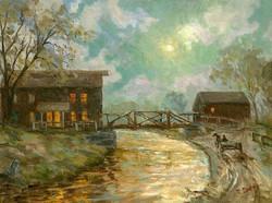 Ramona Dooley - Arrival by Moonlight (Morris Canal)