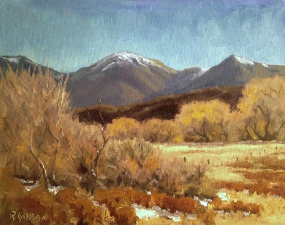 Richard E. Gallego - Breath Of Winter (oil)