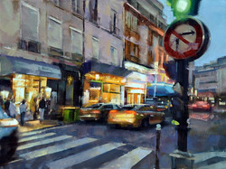 Desmond O'Hagan - Early Evening, Central Paris