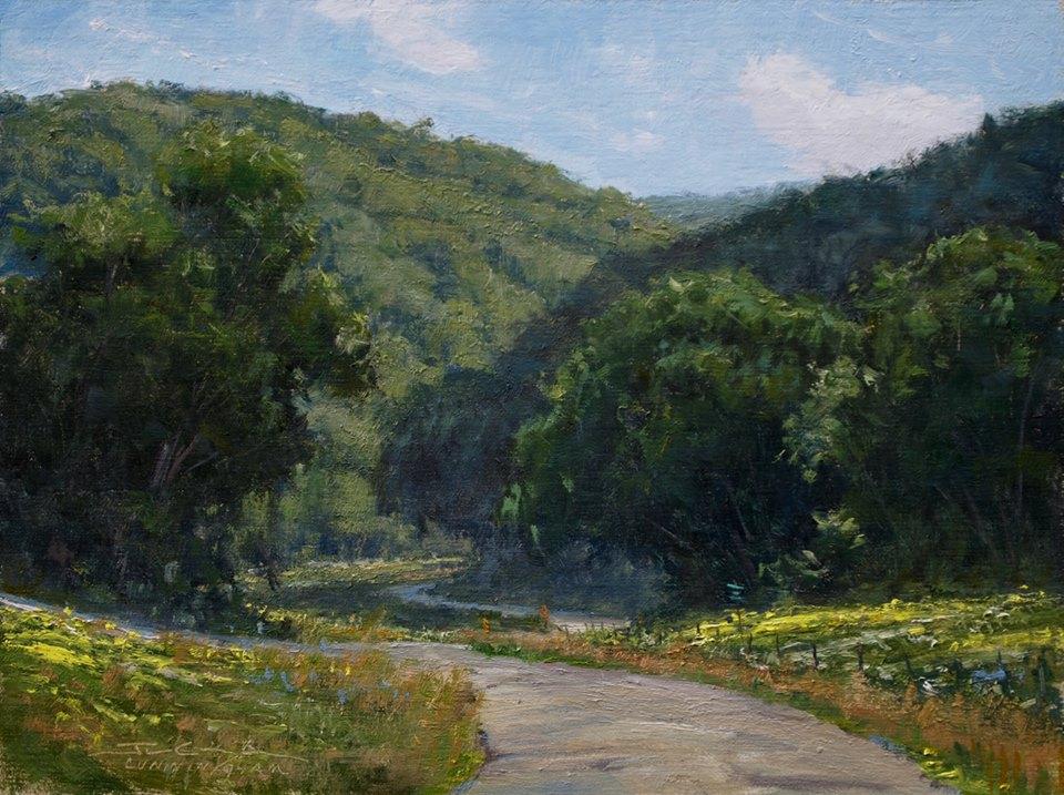 Joshua Cunningham - Wild Flowers and Cloud Shadows