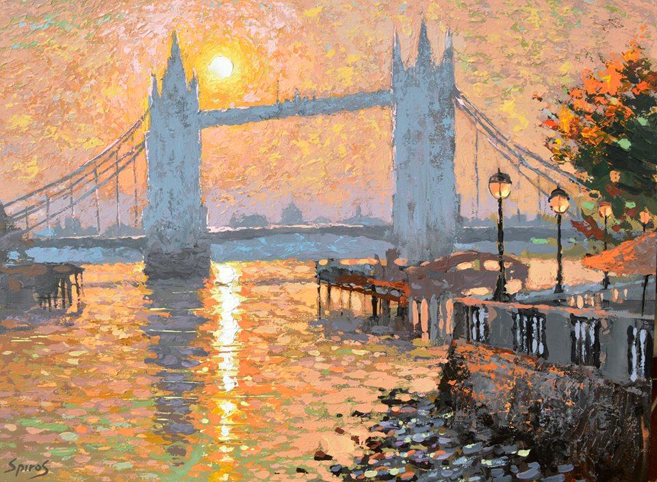 Dmitry Spiros - London's landscape
