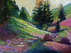 Nancy Paris Pruden - Daly Canyon (plein air)