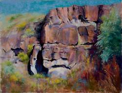 Cindy Kopenhafer - Taos Bluffs II