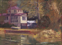 Ed Cahill - Cottage on the Lake