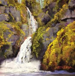 Bonnie Zahn Griffith - Cascade Falls