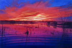 John Hulsey - Sunset, Maple Ranch