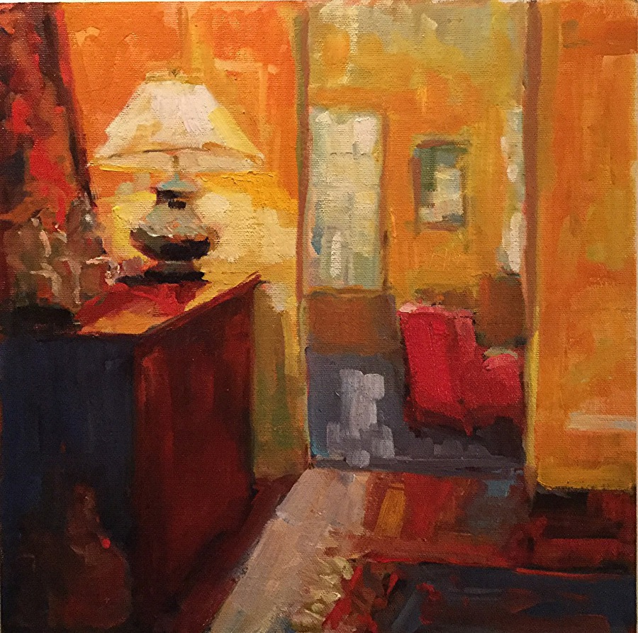 Barb Walker - Red Chair