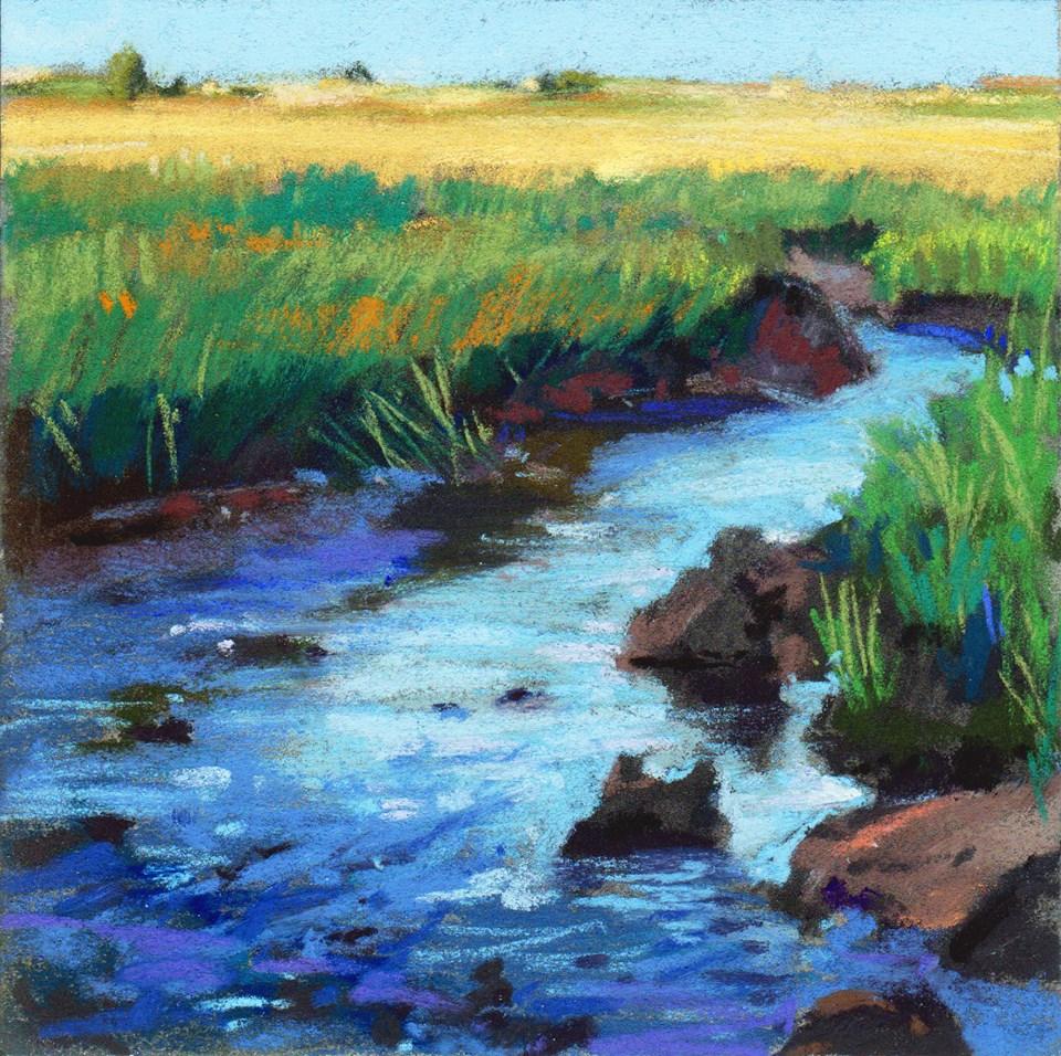 Kim Morin Weineck - Marsh Rocks