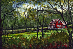 Tim Oliver - North Carolina Red House