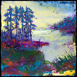 Nancy Overbury - Blueberries Lac St. Maurice